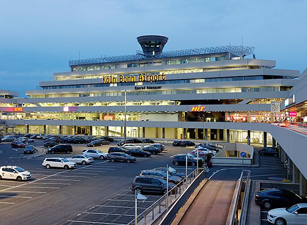 Erweiterung und Umbauarbeiten Flughafen Köln/Bonn