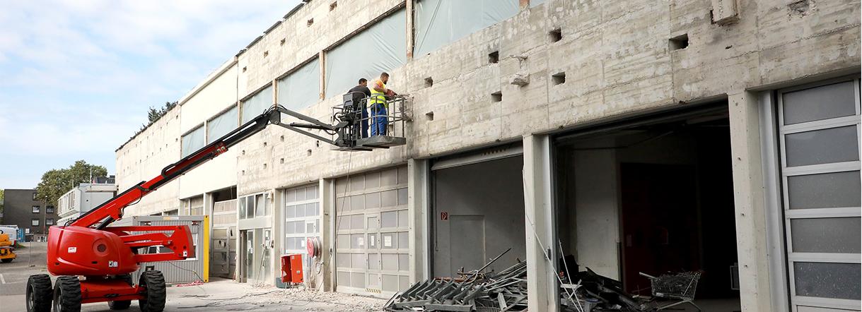 Generalinstandsetzung und Neubau der Feuerwehrhauptzentrale in Köln Bauteil C