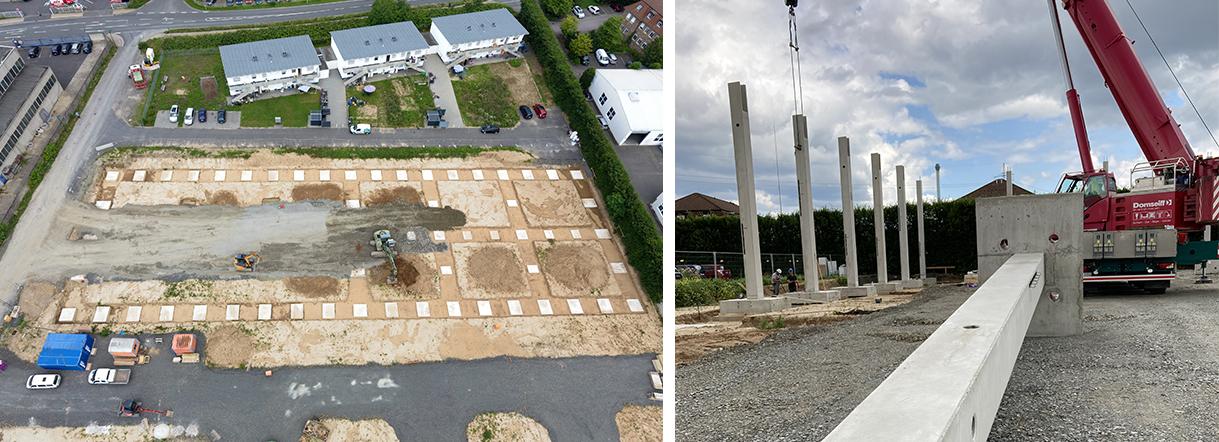 Neue Gewerbehallen in Niederkassel-Rheidt