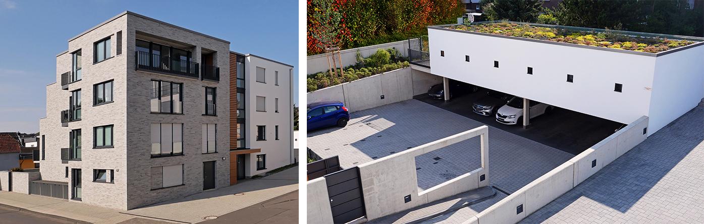 Mehrfamilienwohnhauses in Köln