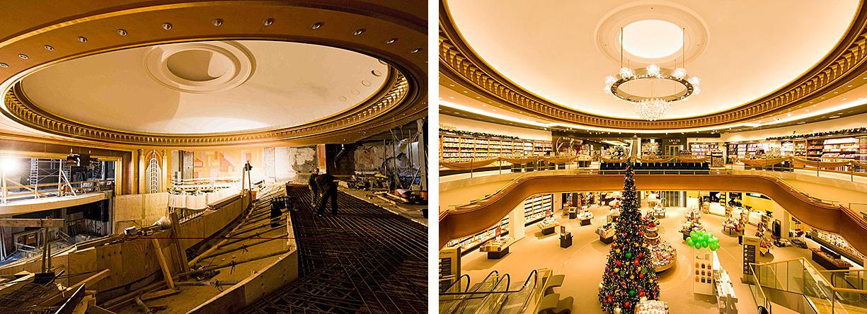 Umbau Metropol Kino zur Buchhandlung