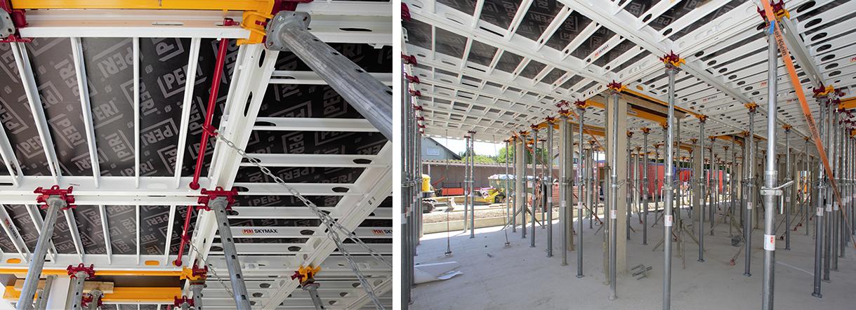 Neues Deckenschalsystem für pharma mall in Sankt Augustin