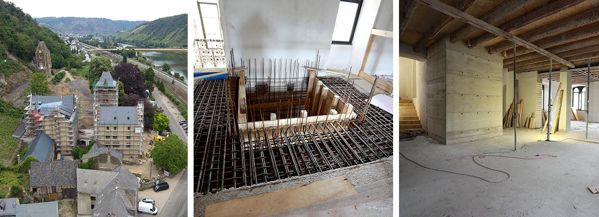 Umbau und Sanierung von Schlossgut Liebieg
