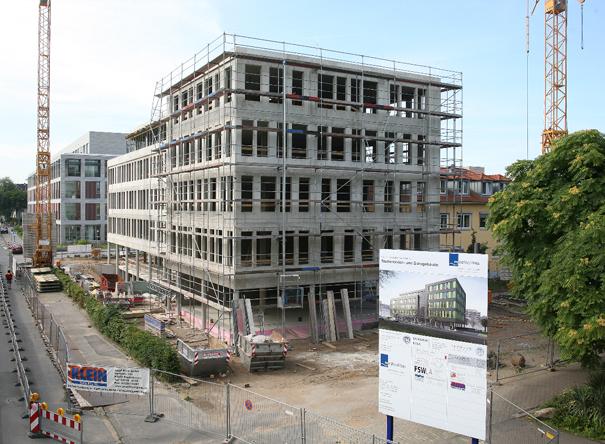 Neubau Studierendenhaus in Köln