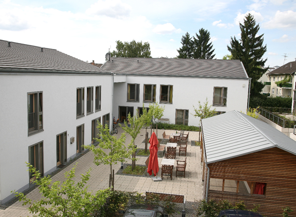 New construction of a residential home for the disabled in Bornheim